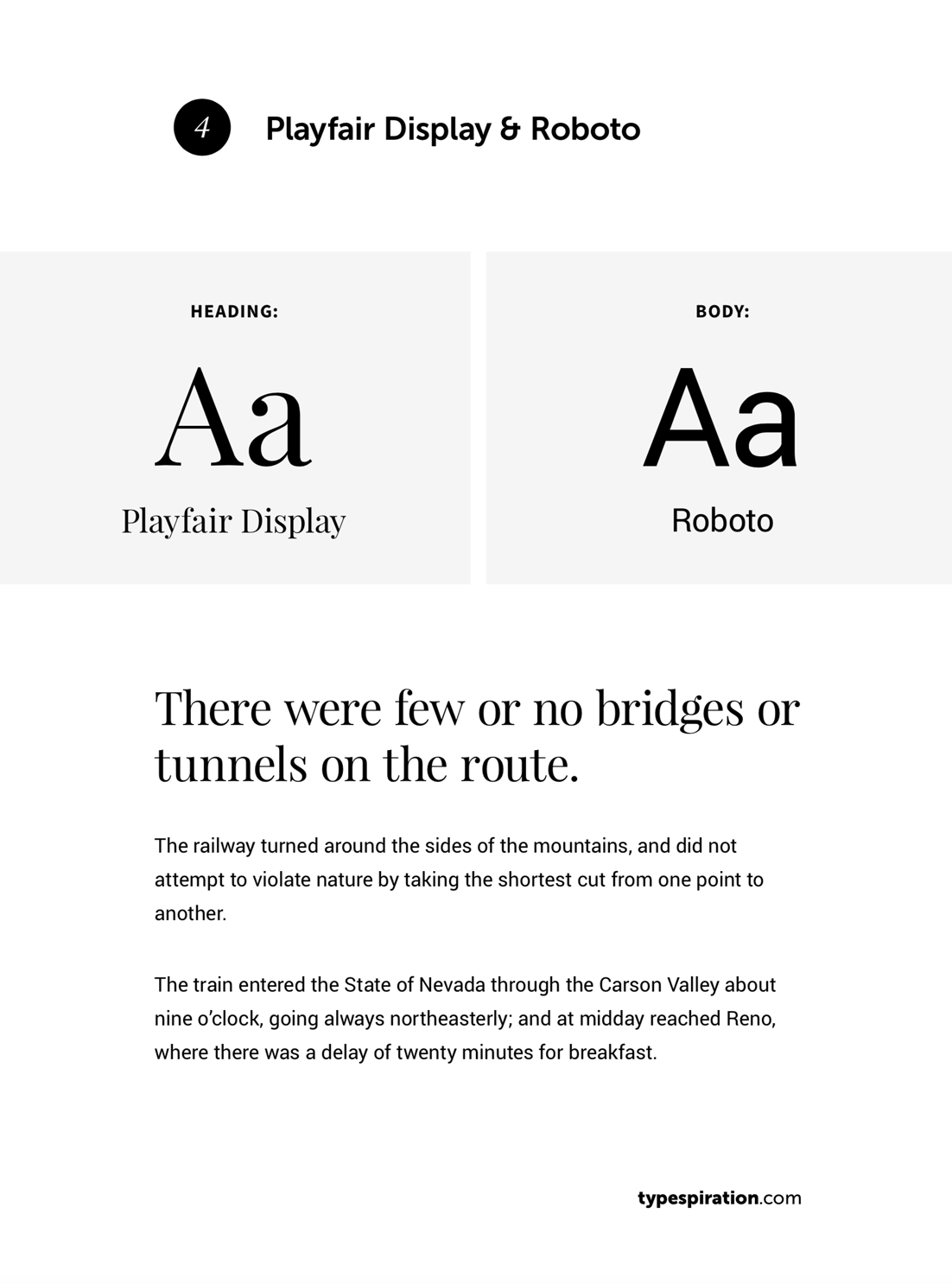 25 Simple and Practical Google Font Combinations