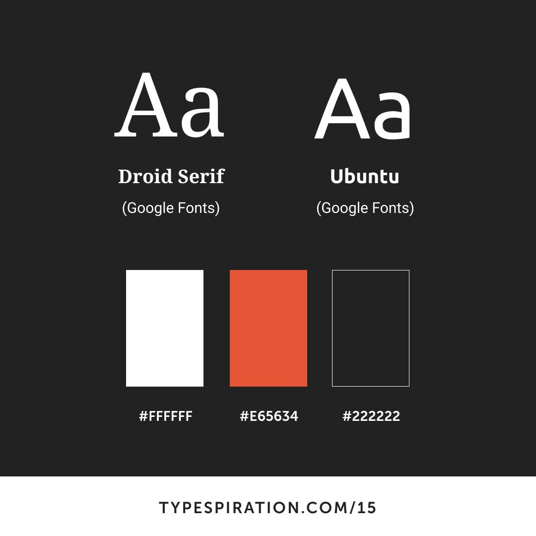Fire and Ash - typespiration com