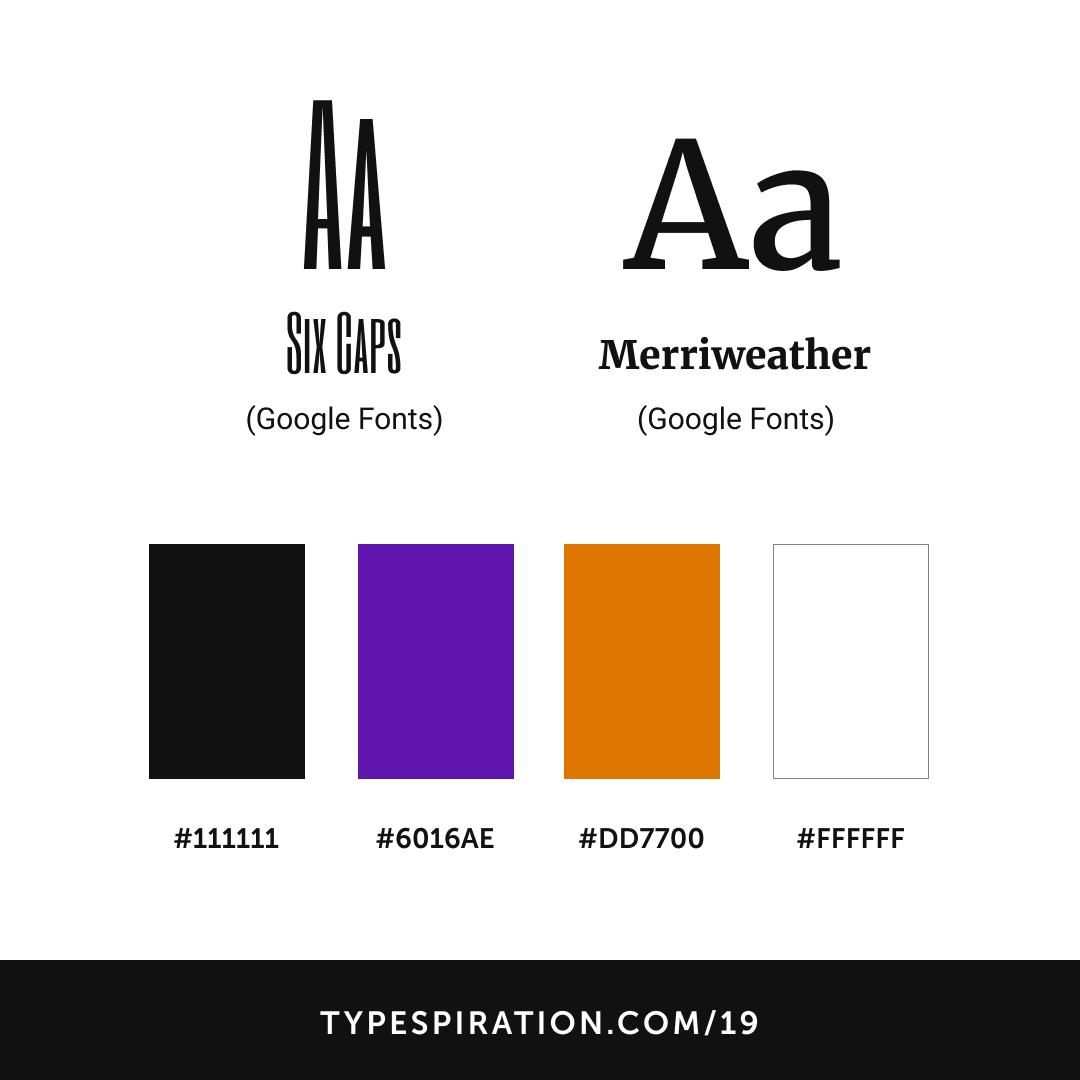 The Getaway - typespiration com